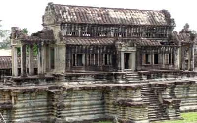 Angkor wat stone Temple