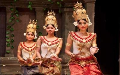 Siem Reap Apsrar Dancers