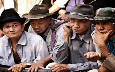 Siem Reap Village head mans meeting