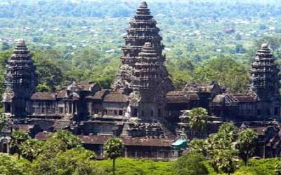 Angkor watback view
