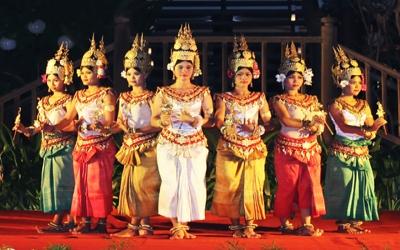 Siem Reap Apsara Dancers