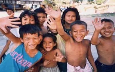 Siem Reap children