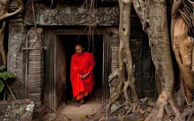 Monk at Ta Phom